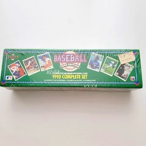 1990 Unopened Pack Fleer 10th Anniversary Edition